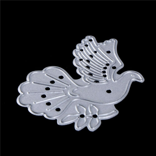 Peace Dove Metal Cutting Dies Stencils for DIY Paper Cards Scrapbooking Decor sa