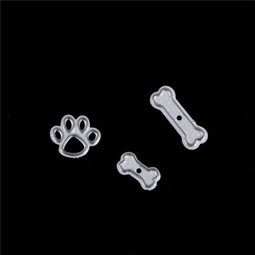 dog with bones scrapbook cuttings dies metal die cuts for diy scrapbook decor EL 8