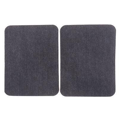 6X Assortiment De Réparation De Jeans En Coton 3Color Fer Sur Denim Patch CBGS 7