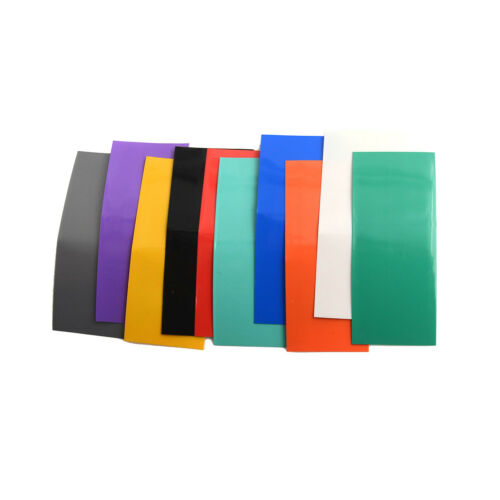100pcs 18650 Battery Wrap PVC Heat Shrink Tubing Pre-cut Precut Best  CP