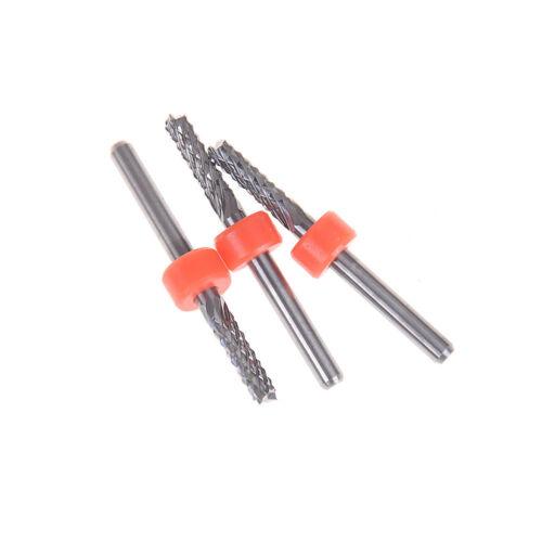 3.175mm Carbide Tungsten Corn Cutter cutting PCB milling bits CNC router bits YE