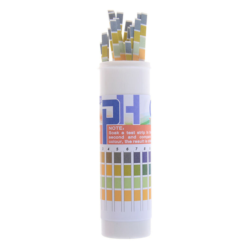 150 Strips bottled PH test strip 0-14 ph acidic alkaline indicator urine sal CH 8