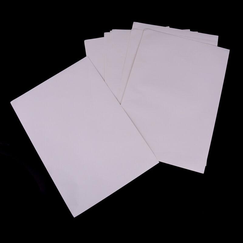 10 feuilles A4 autocollant auto-adhésif blanc mat imprimable mat Iink pour  ~PL 2