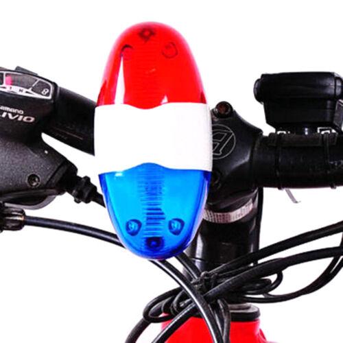 4 laute Sirene Ton Trompete Radfahren HorWLTE 6bike Fahrrad Polizei LED-Licht