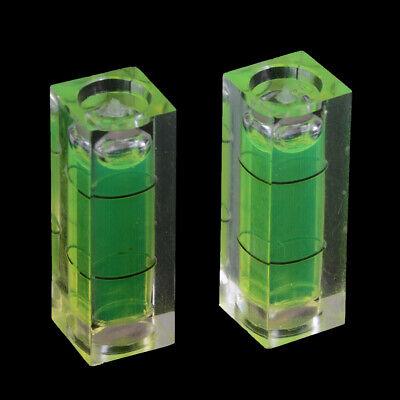 2 Unids cubo rectangular nivel de burbuja burbuja nivel de medición regla e1 5