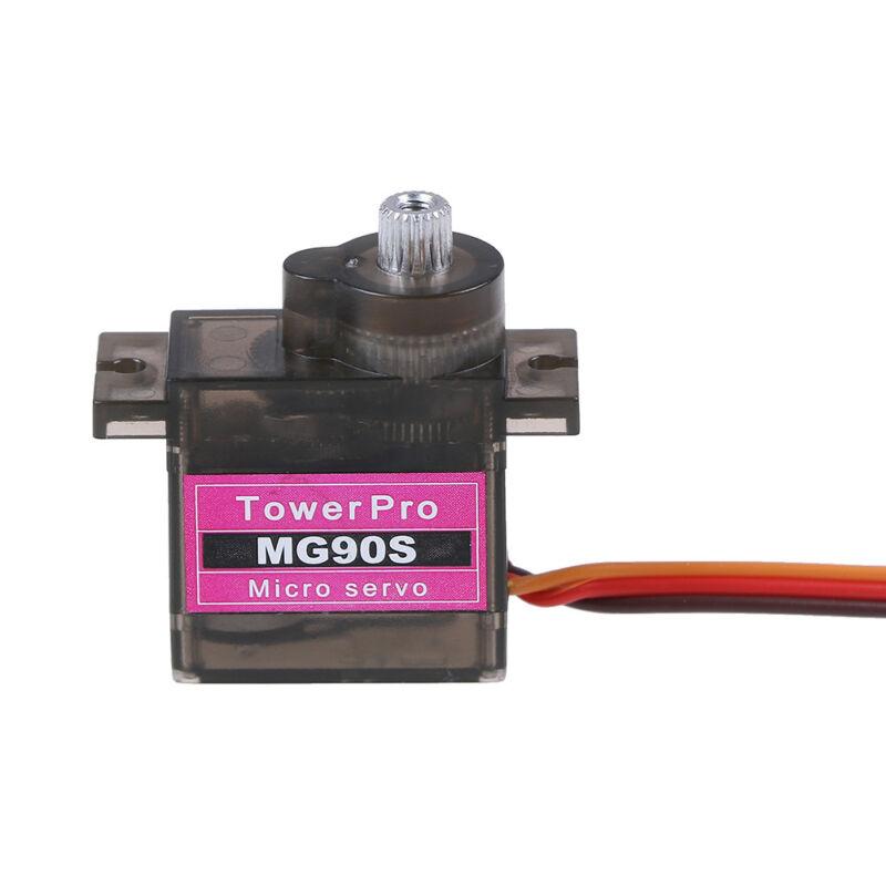 1pcs MG90S micro metal gear 9g servo for RC plane helicopter boat car 4.8V 6V FJ