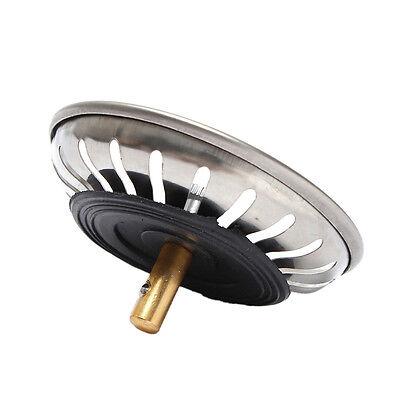 Crépine de panier de bouchon de drain d'évier de cuisine d'acier inoxydable