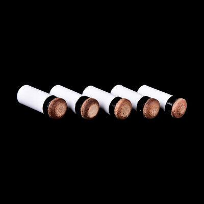 13mm Billard Ersatzteile 5 Pool Queuestifte+5 Schraubspitzen DJ