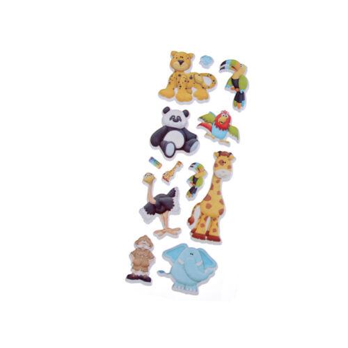 1 Paar Süß 3D Cartoon Lovely Tier Zoo Damen Socken Kinder Baby Mädchen Warm