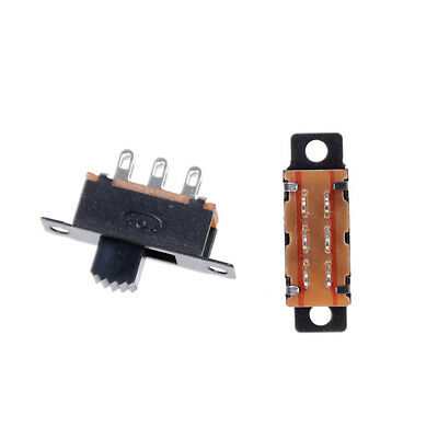 10X 2 Position DPDT 2P2T Schalttafeleinbau Schiebeschalter 6 Pin 0,5A 50 V DC—HQ 4