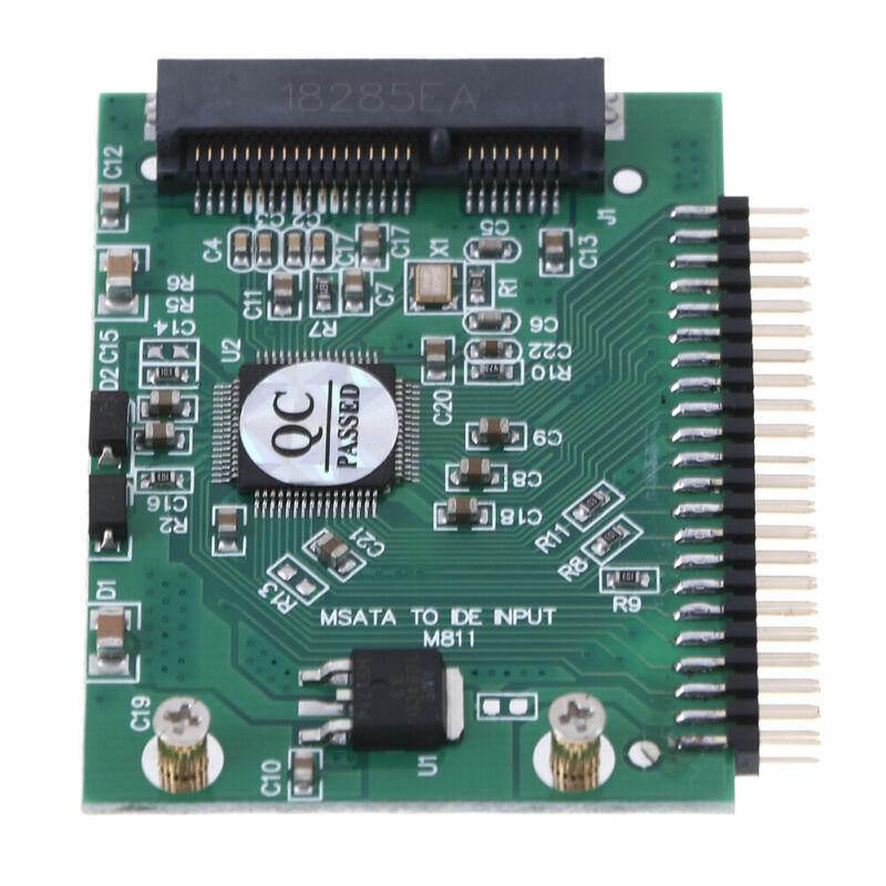 mSATA adapter mSATA SSD to 44Pin IDE adapter mSATA IDE converter card for laptBB 3