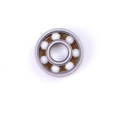 608 Ceramic Ball Inline Speed Bearing For Finger Spinner Skateboards Drift Pl Cy