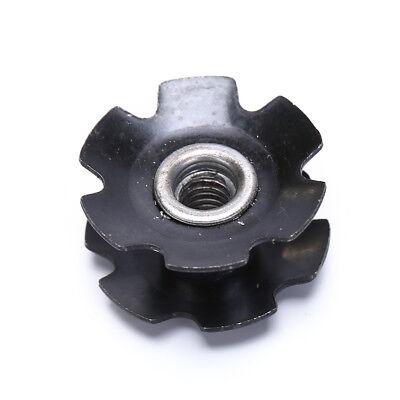 "1pcs Bike Bicycle Cycling Steer Tube Headset Aluminum Star Nut 1 1/8"" 28.6m BHCA 4"