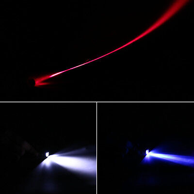 3 In 1 Red Laser Pointer Pen Flashlight Counterfeit Money Detector Climb Hook.. 5