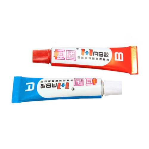 1SetAB Pegamento epoxi que pega fuertemente jeringa jeringa plástico soldaduraGK 5