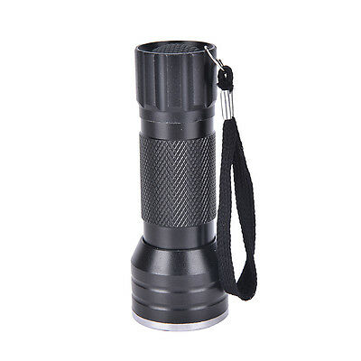 UV Ultra Violet 21 LED Flashlight Mini Blacklight Aluminum Torch Light Lamp  new 6