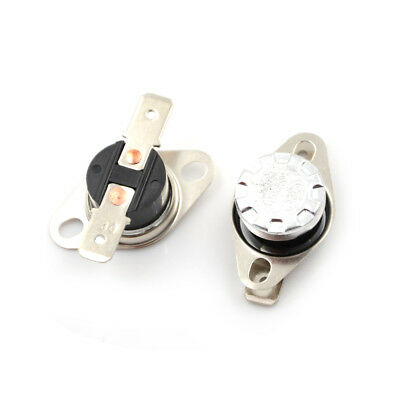 2Pcs 10A 250V KSD301 30°C~160°C Thermostat Temperature Thermal Control Switch YF