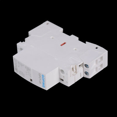 2P 25A 220V//230V 50//60HZ Din rail Household ac contactor 2NO WU