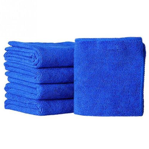 5Pcs Durable Microfiber Cleaning Auto Soft Cloth Washing Cloth Towel Dus bu 2