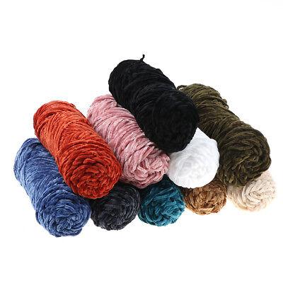 100g Velvet yarn Soft protein Cashmere silk wool Yarn crochet handmade knitti qr 4