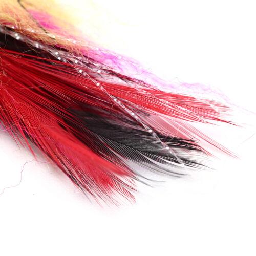5cm fishing Accessories hook//tube trout salmon steelhead pike fly s