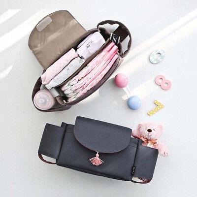 1X Universal Baby Trolley Storage Bag Stroller Cup Carriage Pram Buggy Organizer 3
