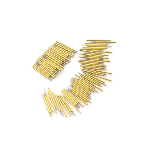 100PCS P75-B1 Dia 1.02mm 100g Cusp Spear Spring Loaded Test Probes Pogo PinsOXZP