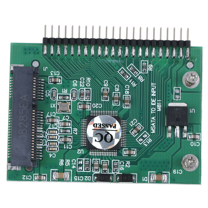 mSATA adapter mSATA SSD to 44Pin IDE adapter mSATA IDE converter card for laptBB 2