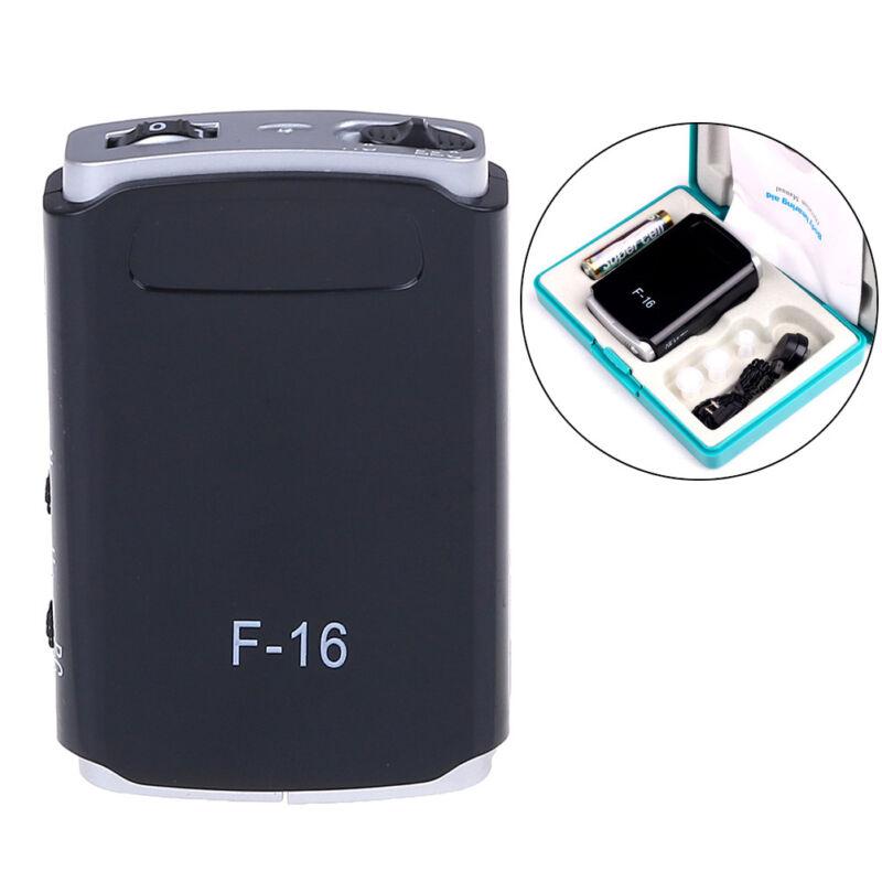Mini digital hearing aid adjustable tone sound amplifier AXON F-16 hearing aiCSY