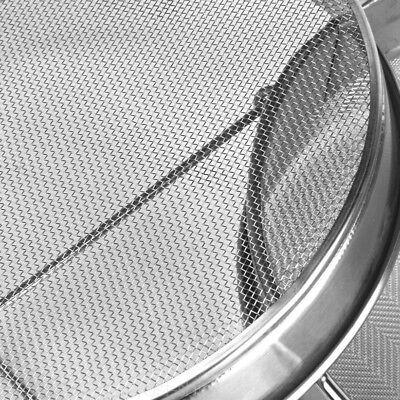 Edelstahl Doppel Honig Sieb Bienenzucht Imker Filter Schmutzfänger Absetztank