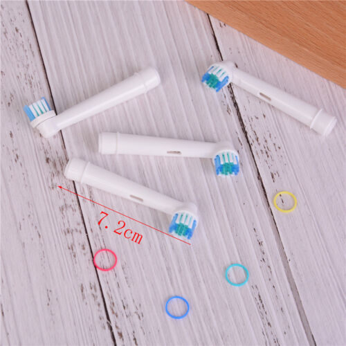 4pcs Electric Toothbrush Heads Replacement for Oral B SB-17A Soft Brush AY 9