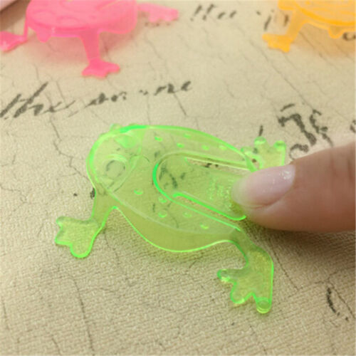 10PCS Jumping Frog Hoppers Game Kids Party Favor Kids Birthday Party Toys ÖÖ 3