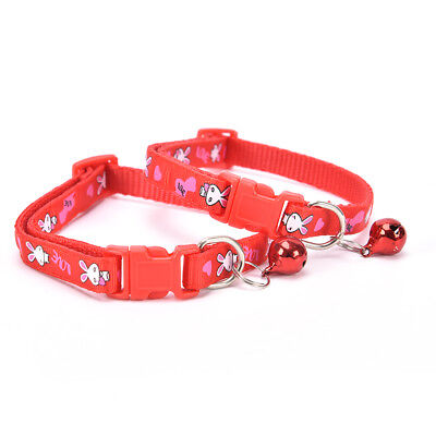 cute rabbit pattern pets cat dog puppy kitten adjustable pet collar with bell G$ 11
