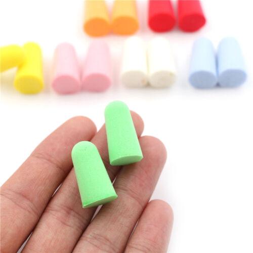 5 of 6 20pcs PU Foam Ear Plugs Anti Noise Snore Earplugs Comfortable For Study Sleep hX