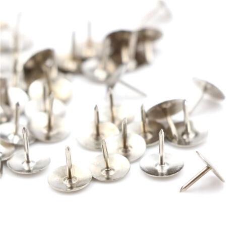 Silber 80 stücke Pins Daumen Reißzwecken Push Pins Bürobedarf Reißzwecke Nick WO