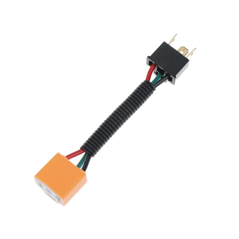 sourcingmap/® 2pcs 3 fils Voiture H4 Phare antibrouillard connecteur femelle faisceau extension