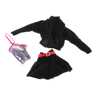 3Pcs/Set Fashion Handmade Party Office Clothes Dress For   Doll Gift Toys K ÖÖ 3