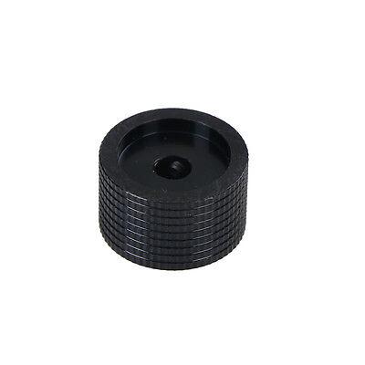 Dia Black Aluminum Rotary Control Potentiometer Knob 20mm x 15.5mm Pop UK