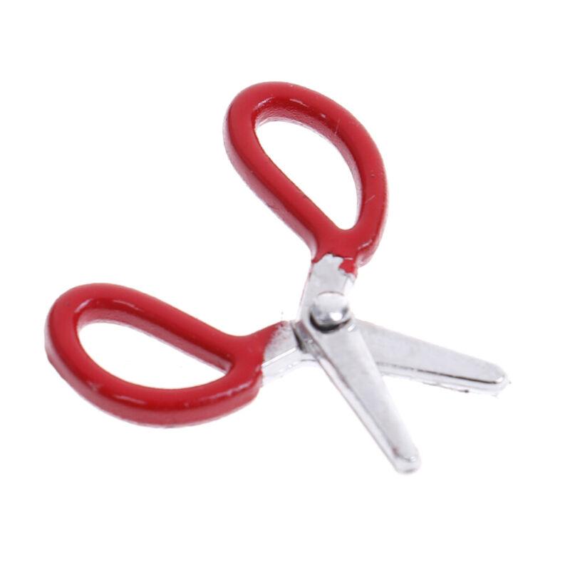 1:12 Dollhouse simulation crafts toys mini metal scissors furniture tJB