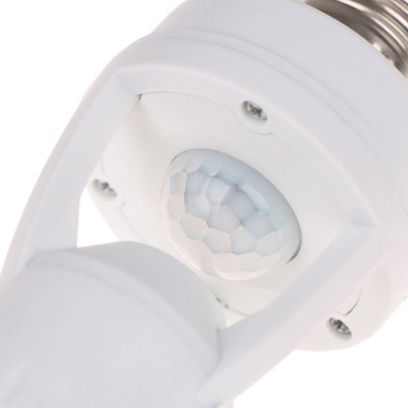 Infrared PIR Motion Sensor E27 LED Light Lamp Bulb Holder.Socket Switch BC 5
