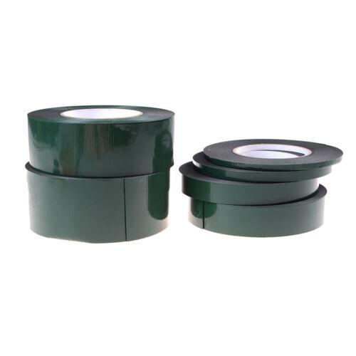 6-60mm * 10m fuerte adhesivo impermeable doble cara cinta de espuma negroH5 2