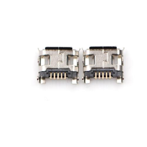 10pc Micro USB Type B Female 5Pin DIP Socket Jack Connector Port Charging  wl 6