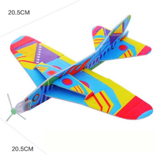 Magic Swing Flugzeug 360 Zyklotron Flugzeug Kinder DIY Modell Spielzeug New DE-