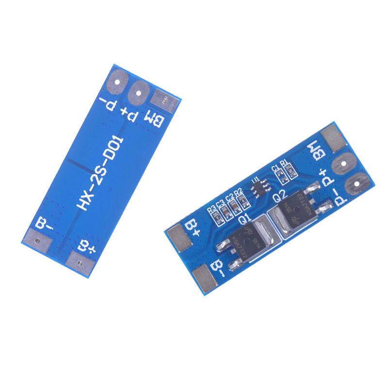 2S 8A 7.4V w/ Balance 18650 Li-ion lithium battery BMS charger protection boa Nj 4
