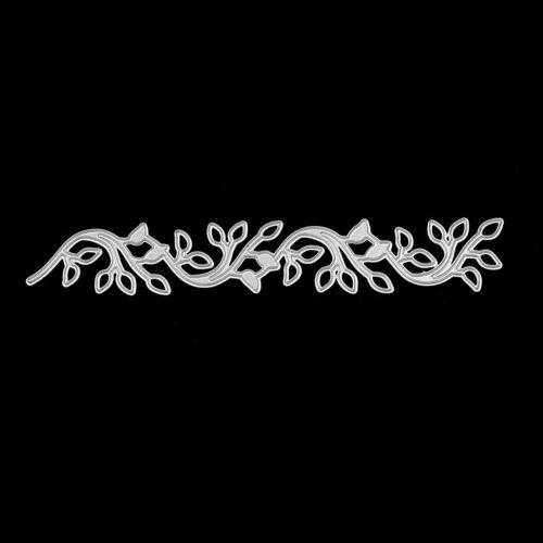 Lace leaves decor Metal cutting dies stencil scrapbooking embossing album diy KY 2