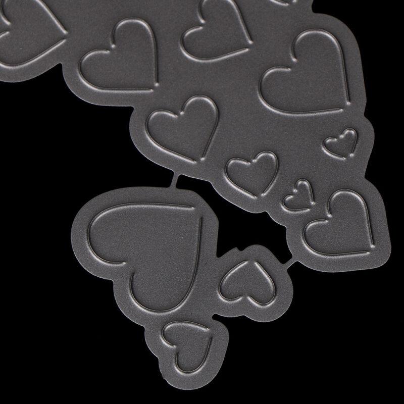 Love Heart Metal Cutting Dies For DIY Scrapbooking Card Paper Album KY 5