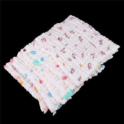 Soft Cotton Baby Infant Newborn Bath Towel Washcloth Feeding Wipe Cloth LZLU 5