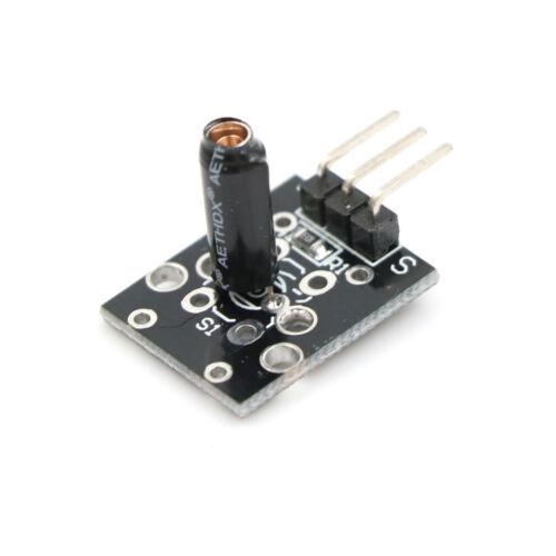 1 ÜCK KY-002 SW-18015P Schock Vibrationsschalter Sensor Modul für Arduino 4H 2c