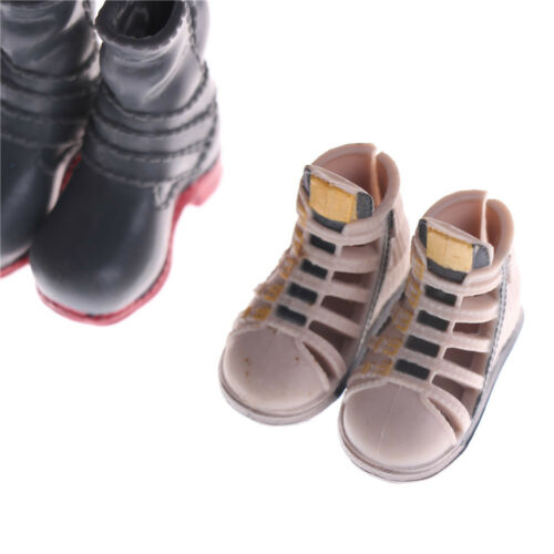 1Pair Fashion High Heels Boots Shoes For Doll Accessories Kids Toys ÖÖ 6