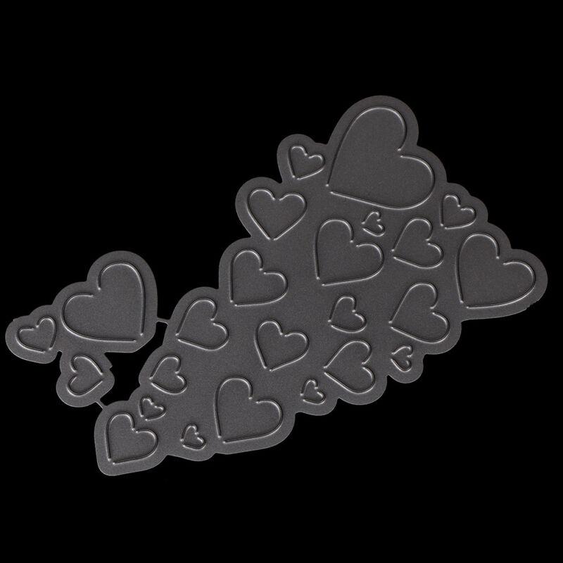 Love Heart Metal Cutting Dies For DIY Scrapbooking Card Paper Album KY 3